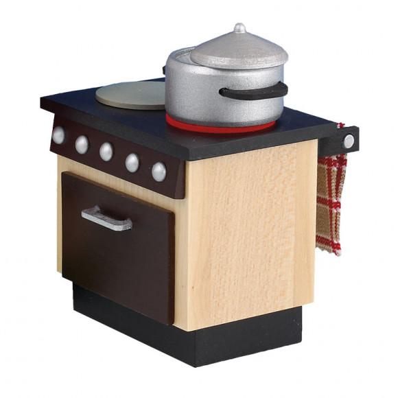 Küchenherd für Räuchermann Koch