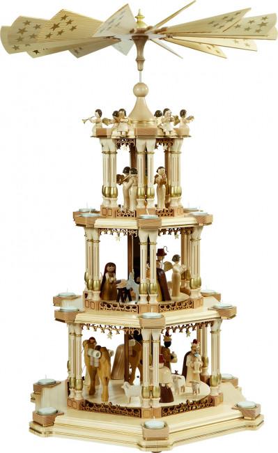 Spiegelpyramide Barock Christi Geburt, natur