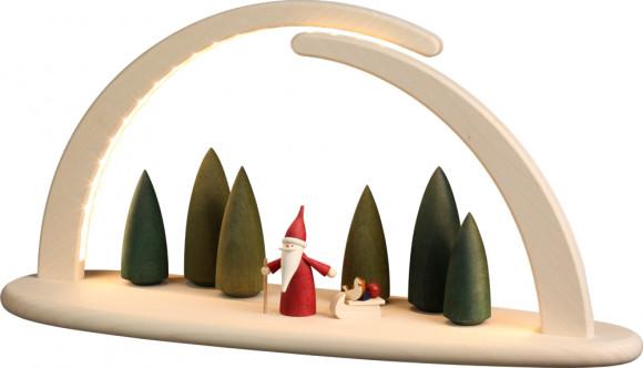 LED-Leuchterbogen mit Motiv Weihnachtswichtel, groß