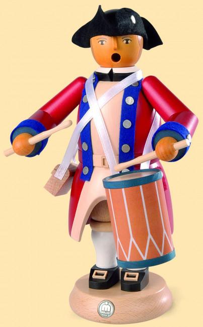 Müller Räuchermännchen Virginia State Garrison Regiment Militär Trommler