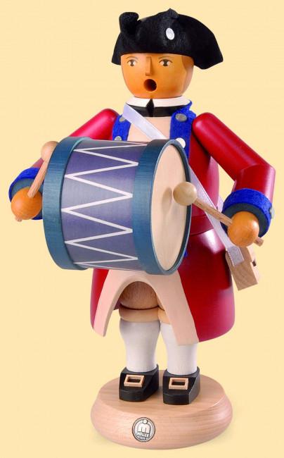 Müller Räuchermännchen Virginia State Garrison Regiment Bass Trommler