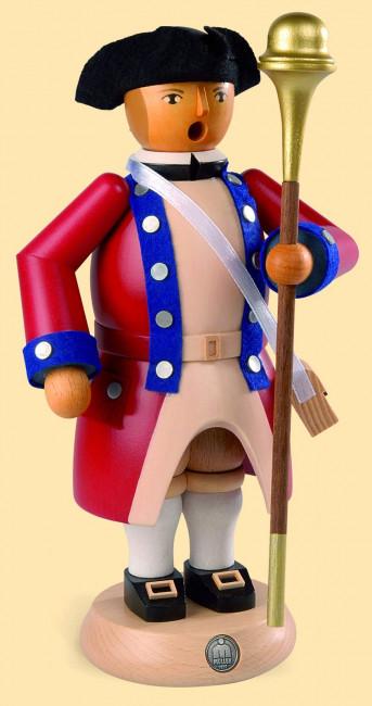 Müller Räuchermännchen Virginia State Garrison Regiment Tambourmajor