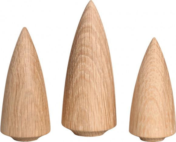 Baumgruppe, 3-teilig, modern