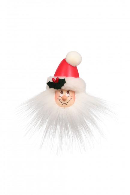 Magnetpin Wichtel Weihnachtsmann