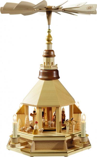 Pyramide Seiffener Kirche, elektrisch