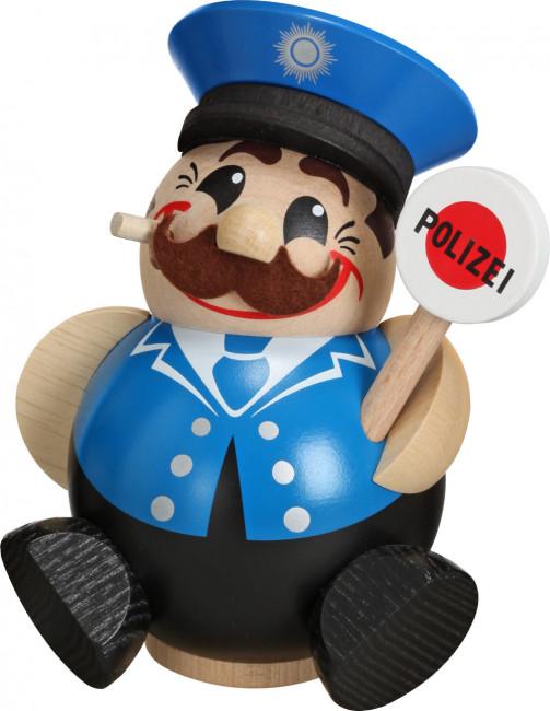 Kugelräuchermännchen Polizist