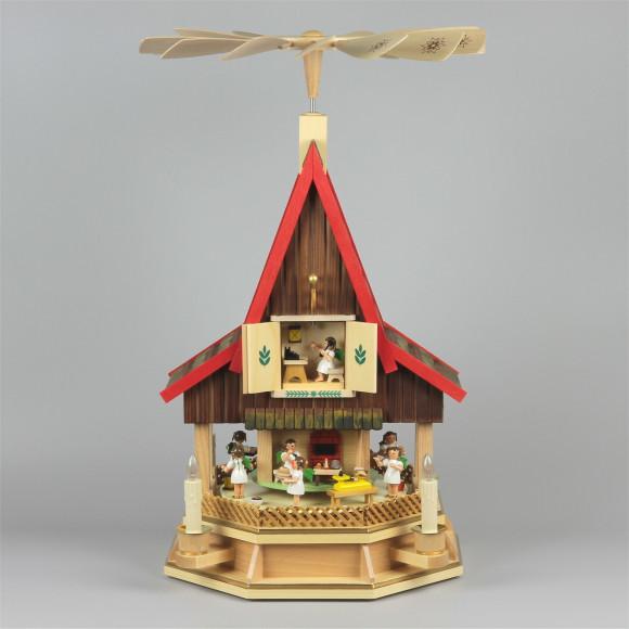 Adventshaus Engelbäckerei, elektrisch