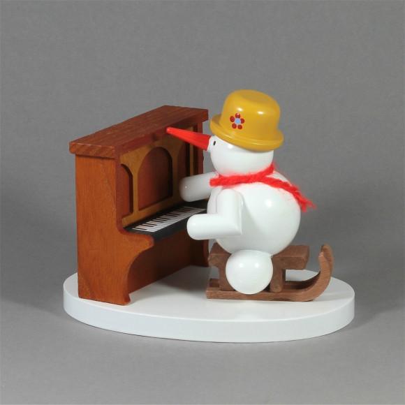 Schneemannkapelle Klavierspieler