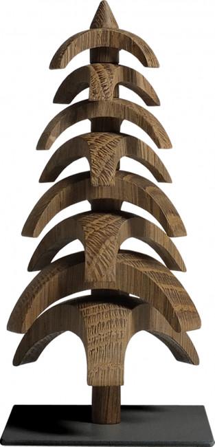 Drehbaum Twist Eiche geräuchert, 15 cm