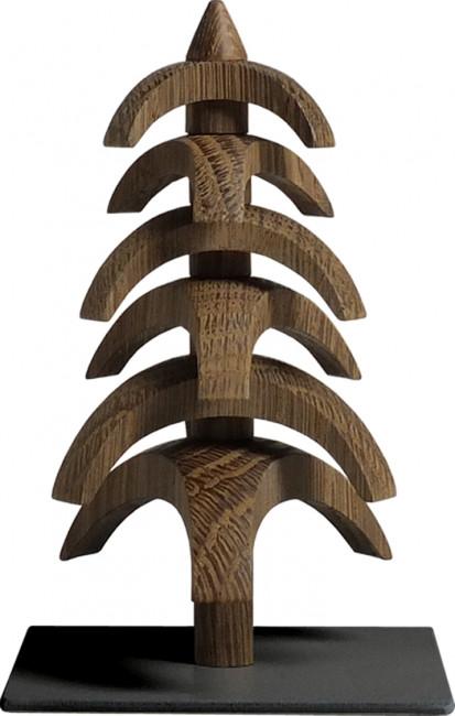 Drehbaum Twist Eiche geräuchert, 11,5 cm