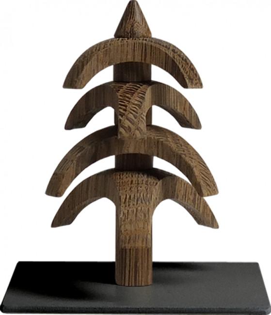 Drehbaum Twist Eiche geräuchert, 8 cm
