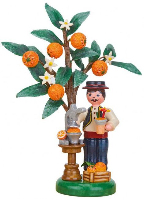 Hubrig Jahresfigur Herbstkind 2021 Orange limitiert