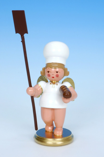 Bäckerengel mit Brotschieber