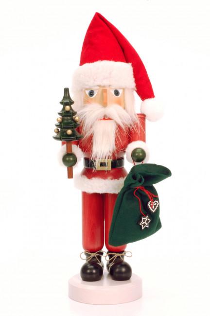 Nussknacker Weihnachtsmann lasiert