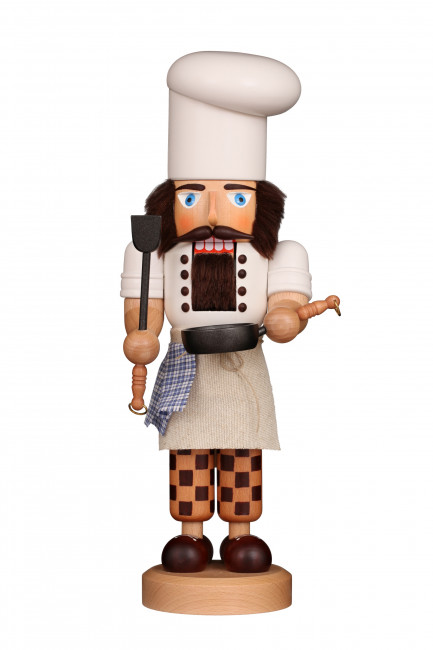 Nussknacker Koch, lasiert