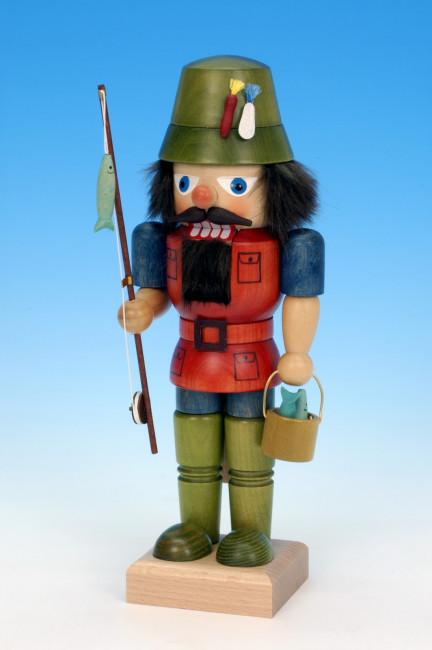 Ulbricht Figur der Angler grün rot
