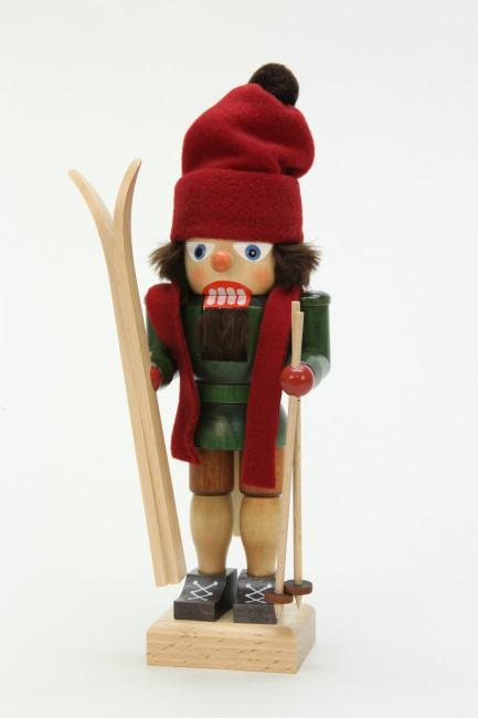 Nussknacker Skifahrer