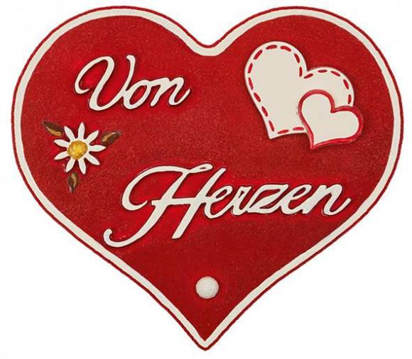 """Magnetpin-Herz """"Von Herzen"""""""