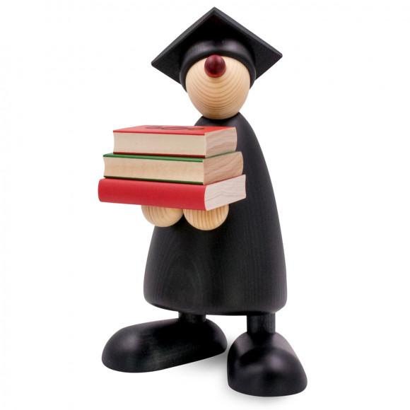 Advokat mit Büchern, 17 cm