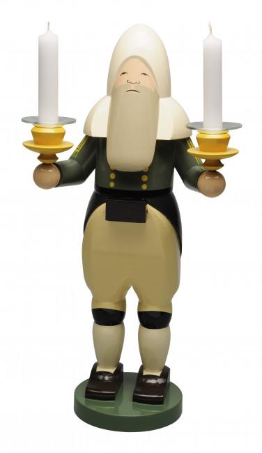 Bergmann mit Lichtertüllen, 30 cm