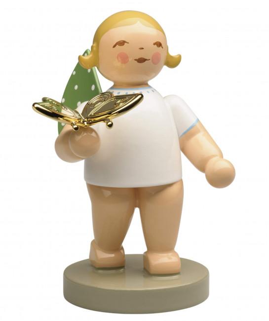 Engel mit Schmetterling Träumer, Goldedition 2020