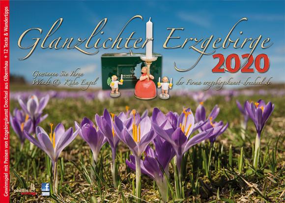 Kalender 2020 Glanzlichter Erzgebirge