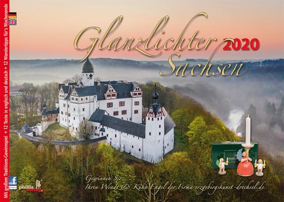Kalender 2020 Glanzlichter Sachsen