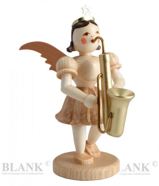 Kurzrockengel mit Saxophon