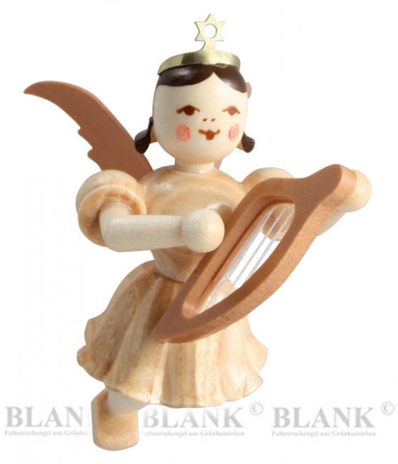 Engel schwebend mit Leier