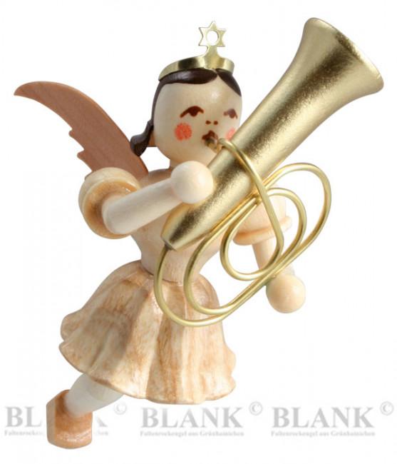 Engel schwebend mit Tuba