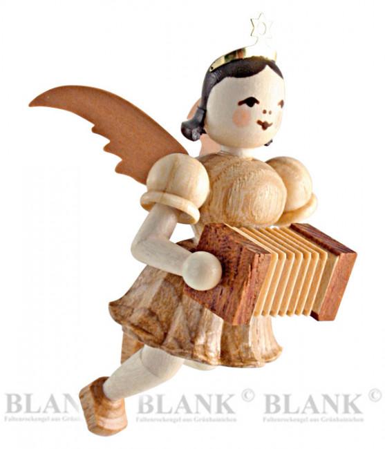 Engel schwebend mit Harmonika