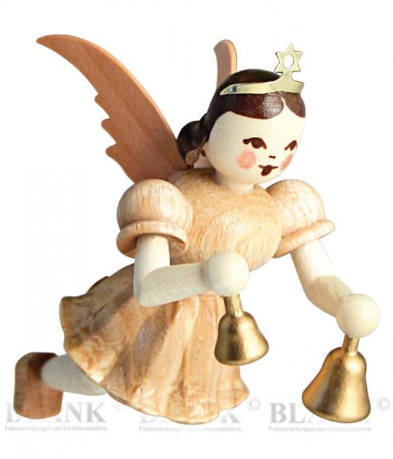 Engel schwebend mit Glocken