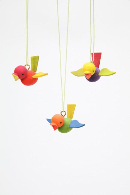 Baumbehang Flugvogel klein, 3-teilig