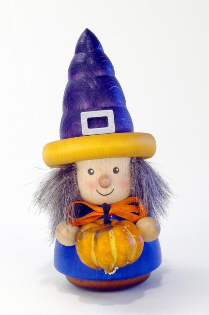 Wackelmännchen Halloween Hexe