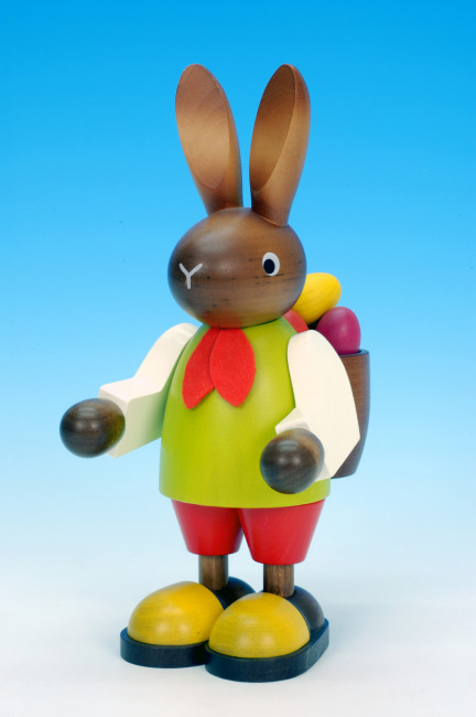 Hasenmann mit Eierkorb