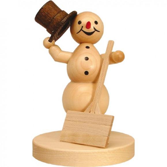 Schneemann mit Schippe