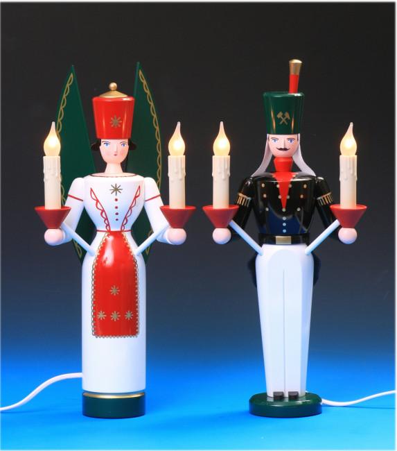 Engel & Bergmann farbig, 36 cm, elektrisch