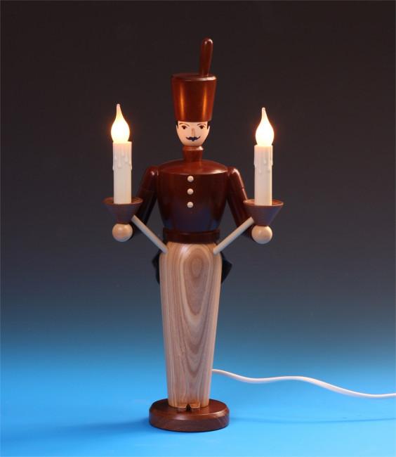 Lichterbergmann lasiert, 36 cm, elektrisch