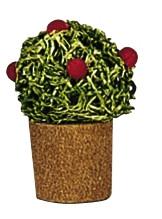 Blumentopf mit Knospen