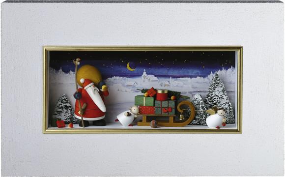 Wandbild Weihnachtsland