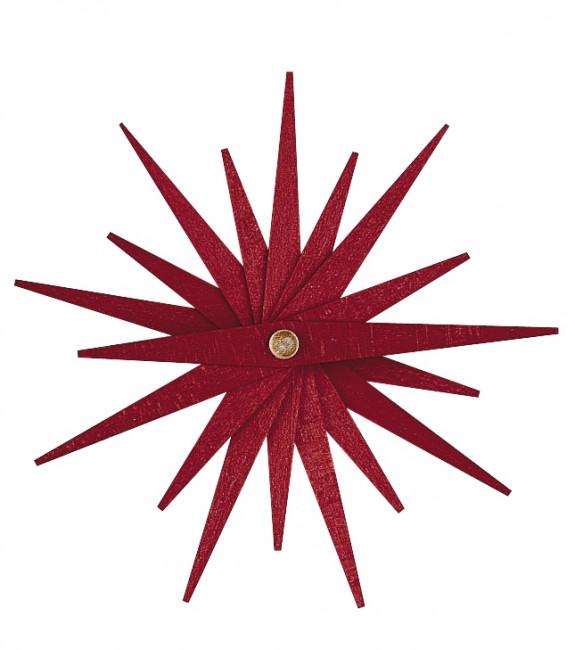 Baumbehang Faltstern rot, 3er-Set