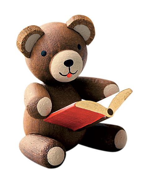 Glücksbärchen mit Buch