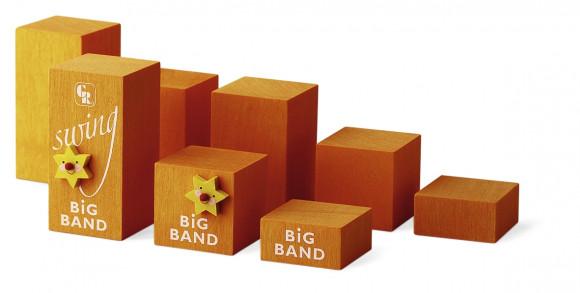 Dekowürfelset Big Band