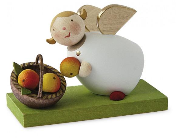 Schutzengel mit Apfelkorb