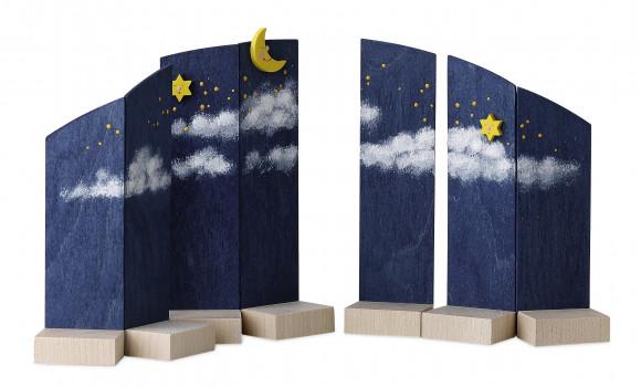 Hintergrund Nachthimmel