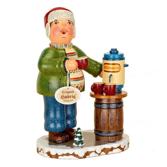 Räuchermann Winterkinder Glühweinverkäufer