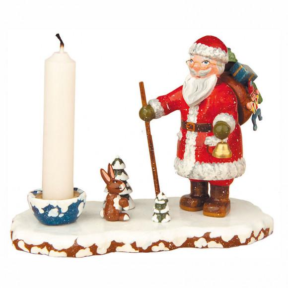 Winterkinder Kerzenhalter Weihnachtsmann