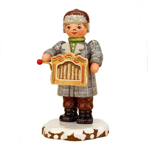 Winterkinder Drehorgelspieler