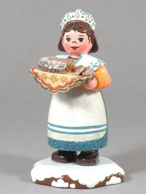Winterkinder Zuckerbäckerin
