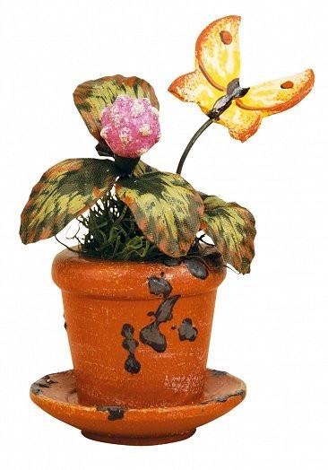 Blumentopf Kleeblume